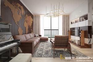Thiết kế nội thất chung cư 86m2 đẹp tối ưu chi phí