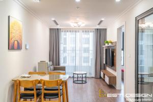 Thiết kế nội thất chung cư 2 phòng ngủ đẹp tiện nghi